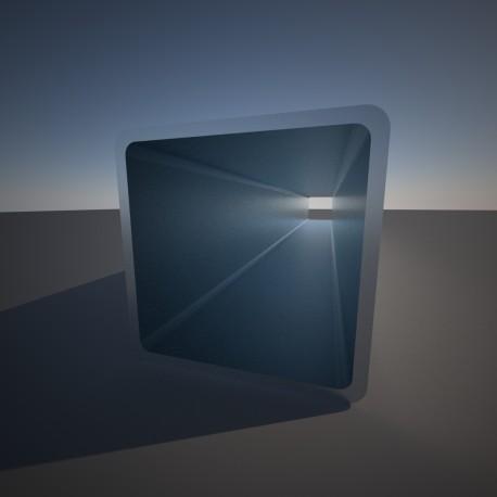 Vierkante buis 30x30x2